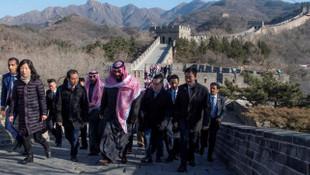 Veliaht prensten Çin Seddi hatırası