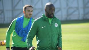 Atiker Konyaspor'da Yatabare sakatlandı