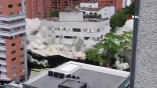 Pablo Escobar'ın evi 3,2 saniyede yıkıldı