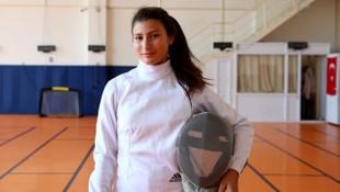 Nisanur Erbil, Avrupa Yıldızlar ve Gençler Eskrim Şampiyonası'nda altın madalya kazandı