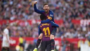 Sevilla 2 - 4 Barcelona