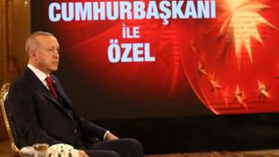 Erdoğan'dan canlı yayında Ankara anketi açıklaması