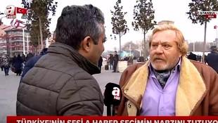 A Haber'in röportaj yaptığı isim tiyatrocu çıktı