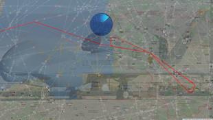 ABD İHA'sı Rus hava sahasında !