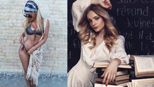 Rus sözcünün kızı Avrupa'yı salladı