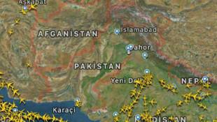 Pakistan hava sahasına sessizlik hakim