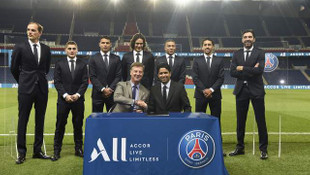 Paris Saint-Germain'e Accor Grubu'ndan büyük destek