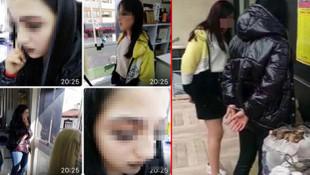 Yurtta kaçan 3 kız kentte ortalığı karıştırdı
