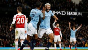 Manchester City 3 - 1 Arsenal (Premier Lig)