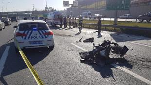 TEM'de feci kaza: 1 ölü