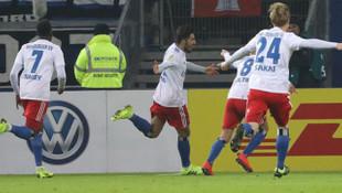 Hamburg Berkay Özcan'ın golüyle çeyrek finale yükseldi