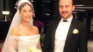 Hazal Kaya, meslektaşı Ali Atay ile evlendi