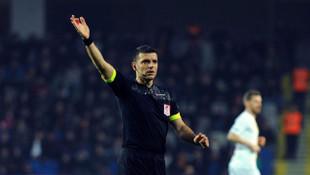 Ümit Öztürk ilk kez Galatasaray - Trabzonspor maçında düdük çalacak