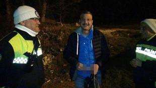 Alkollü sürücüden inanılmaz taktik ! Polise takıldı