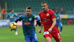 Çaykur Rizespor 1 - 1 Antalyaspor