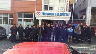 AK Partili belediyede eylem var