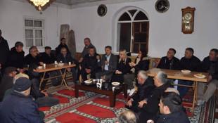 CHP'li aday camide seçim çalışması yaptı