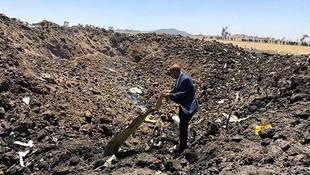 Etiyopya Havayollarına ait uçak düştü
