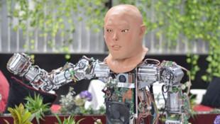 Konyalı yerli robotun artık bir de yüzü var