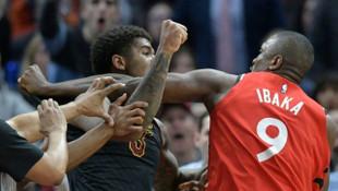 NBA'de yumruk yumruğa kavga