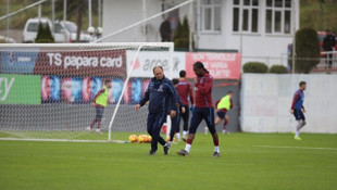 Trabzonspor'da Rodallega ve Hosseini antrenmanı tamamlayamadı