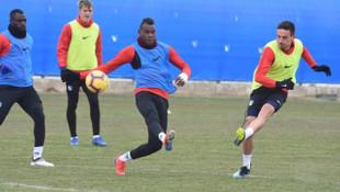 BB Erzurumspor Trabzonspor maçı hazırlıklarını sürdürdü