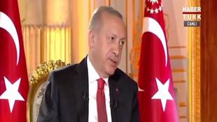 Erdoğan'a sorulan 'yumurta' sorusu canlı yayına damga vurdu