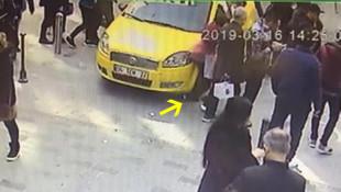 Taksim'de kadın turist kabusu yaşadı
