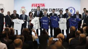 Real Madrid ile Chelsea veteranları karşı karşıya
