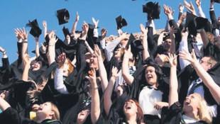 Üniversitelilerin 5'te birinin işi var !