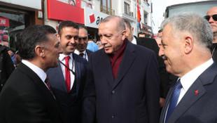 Cumhurbaşkanı Erdoğan'dan Cumhur İttifakı Kars MHP adayı Nazik'e tam destek