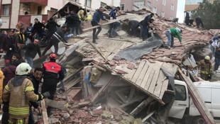 Kartal'daki binanın neden çöktüğü ortaya çıktı