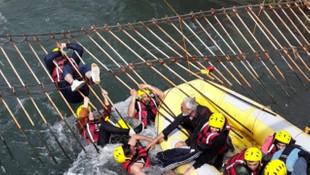 Rafting macerası kabusa döndü