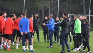 BB Erzurumspor Antalya Belek'te kampa girdi