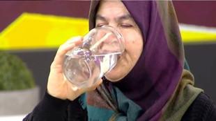 Günde tam 25 litre su içiyor