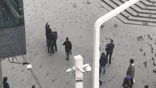 Taksim'de hareketli dakikalar ! Vatandaşlar böyle yakaladı
