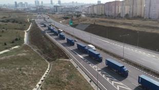 THY'yi Atatürk Havalimanı'ndan yeni havalimanına bin TIR taşıyacak