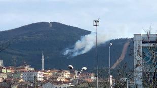 Aydos Ormanı'nda yangın