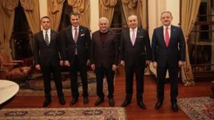 Binali Yıldırım kulüp başkanlarıyla buluştu