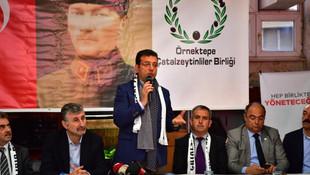 İmamoğlu: Bu hafta gündem ''devlet adamlığı'' olmalı