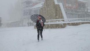 Van'da 14 yerleşimin yolu kardan kapandı