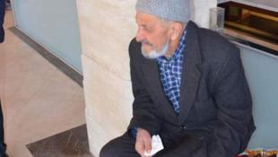 Cami çıkışında yaşlı adama darp