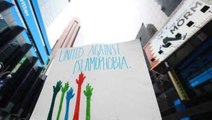 İslamofobi'ye karşı ''birlik'' protestosu