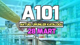 A101 28 Mart aktüel ürünler kataloğu
