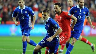A Milliler Moldova'yı 4 golle mağlup etti