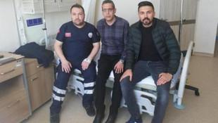 Sağlık çalışanına hastanede yumruklu saldırı