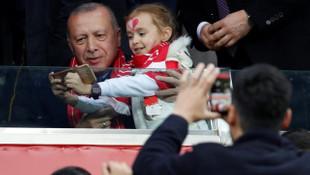 Cumhurbaşkanı Recep Tayyip Erdoğan'dan A Milli Takım açıklaması