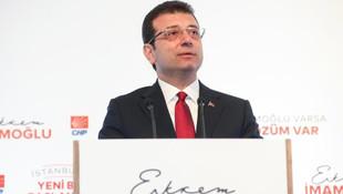 Ekrem İmamoğlu: ''Yeni bir İstanbul, yeni bir Türkiye…''