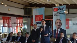 CHP'nin Kartal adayı Gökhan Yüksel'den Kartal'a 39 proje