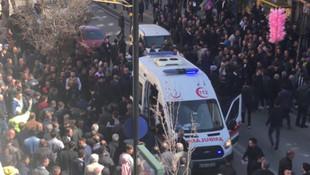 Sivas'ta şehrin en işlek caddesinde büyük panik !